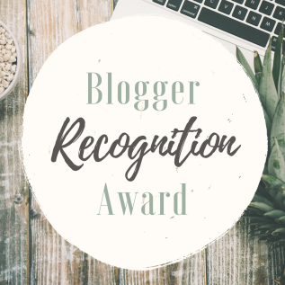 Blogger Recognition Award 2017