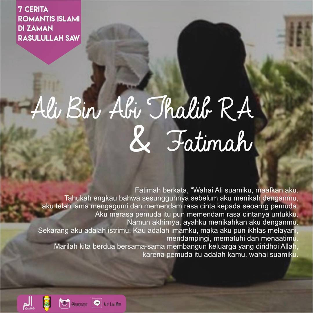 perjalanan cinta ali bin abi tholib dengan fatimah az zahro