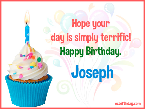 Image result for Happy Birthday day Joseph