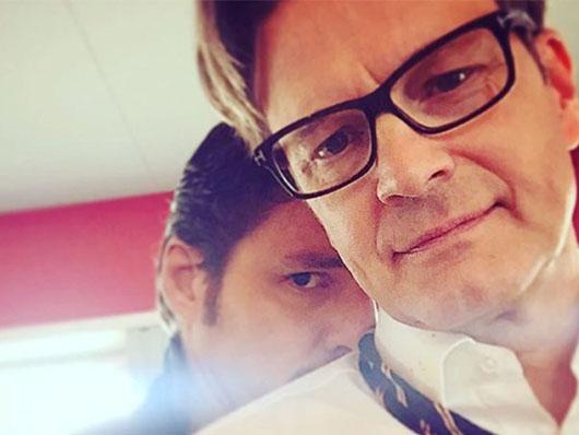 Primera foto de Colin Firth en 'Kingsman: The golden circle'