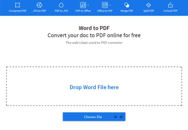 Cara Mengubah Word ke PDF Secara Online