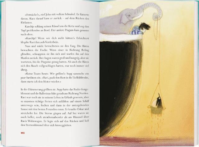 Heute ein Buch! Die abenteuerliche Reise der Ballerinus (+ Verlosung). Ein toller maritimer Kinderbuch-Tipp zum Welttag des Buches auf Küstenkidsunterwegs.