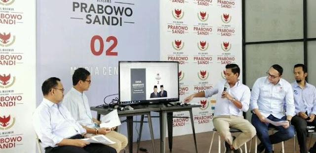 Dana Kampanye Prabowo-Sandi 54 Miliar, 39 Miliar Milik Sandiaga Uno, Prabowo?