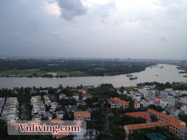 The Vista apartment 4 bedrooms for rent Saigon River View