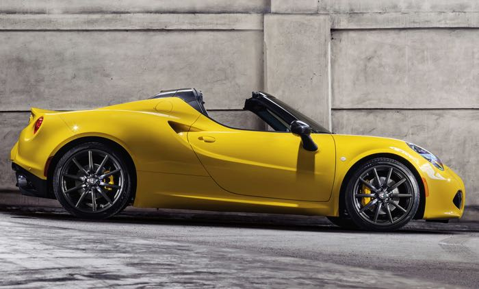 The Alfa Romeo 4C Convertible Is A Very Strong Candidate. I Have So Much  Love For The Alfa Romeo Brand After All Of The Years I Enjoyed With My  Spider ...