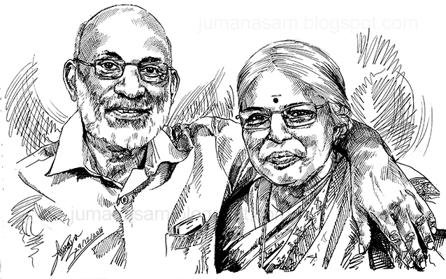 Jumana art blog: മാഷ് വാസുദേവന് അന്തിക്കാട് അങ്കിളിന്