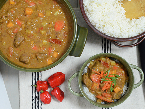 Senegalese Maafe recipe featuring Certified Angus Beef