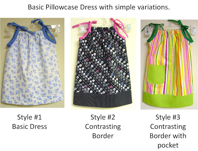 Pillow Case Style Dress Pattern