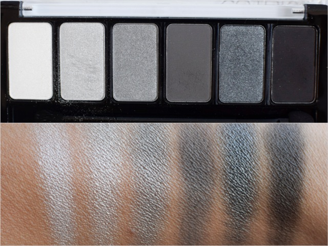 catrice Sortimentsupdade Herbst Winter 2016, Never Grey Up Palette, Swatch