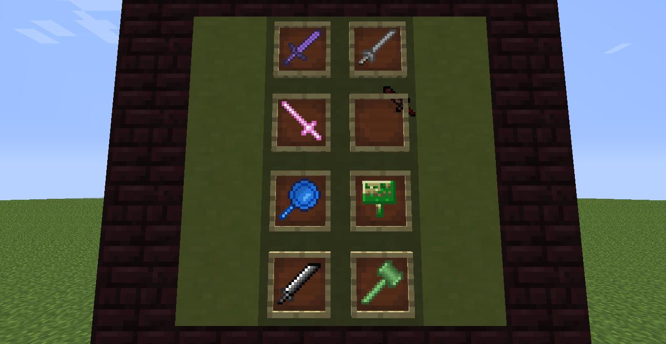 Tipos de espada en Tinkers' Construct – Minecraft 1.7.10 ...
