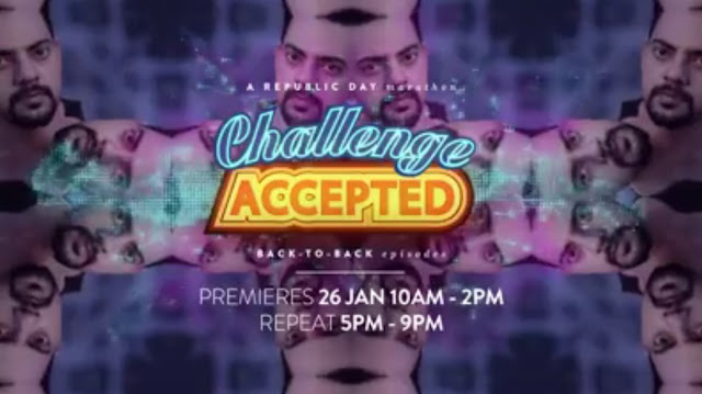 'Challenge Accepted' on Comedy Central India New Prank Comedy Show Plot Wiki,Rules,Host,Contestant,Timing