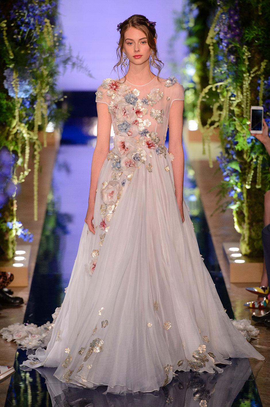 vestido de noiva colorido 2018