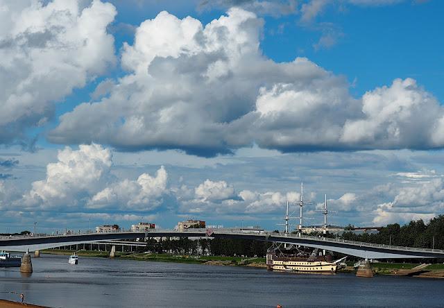 Великий Новгород – река Волхов (Veliky Novgorod - the Volkhov River)