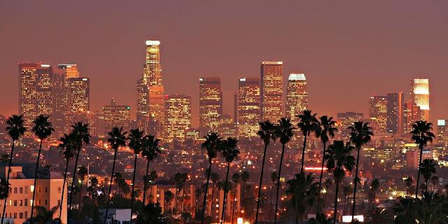 Paisaje de L.A #paisaje #palmeras #bonito