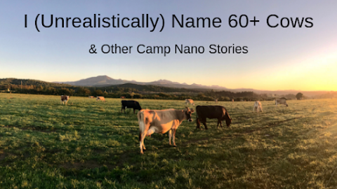 I (Unrealistically) Named 60+ Cows and Other Camp NaNo Stories