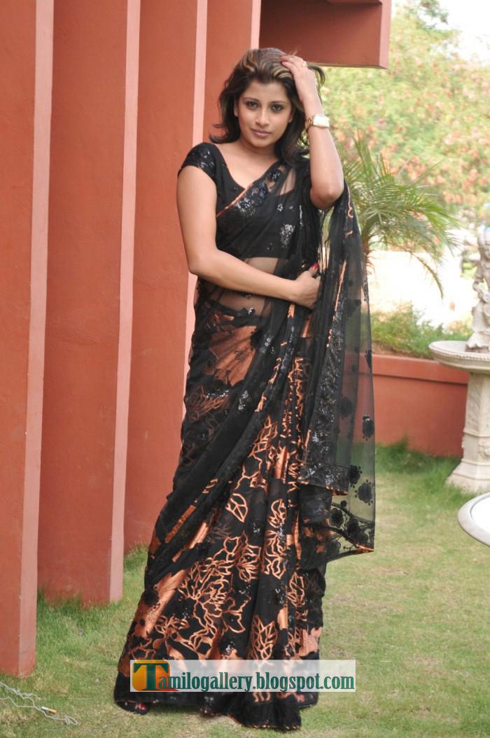 Nadeesha Hemamali Latest Hot Saree Stills  Tamilogallery-5178