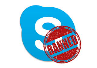 skype banned china