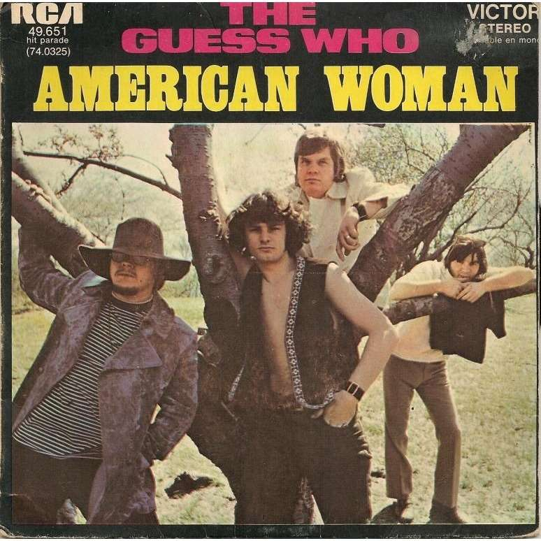 Songtext von The Guess Who - American Woman Lyrics