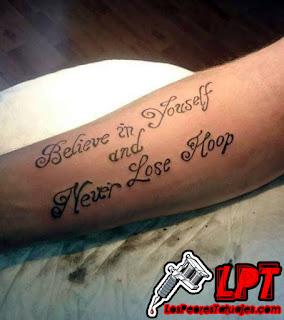 Fails de tatuajes en frases en ingles