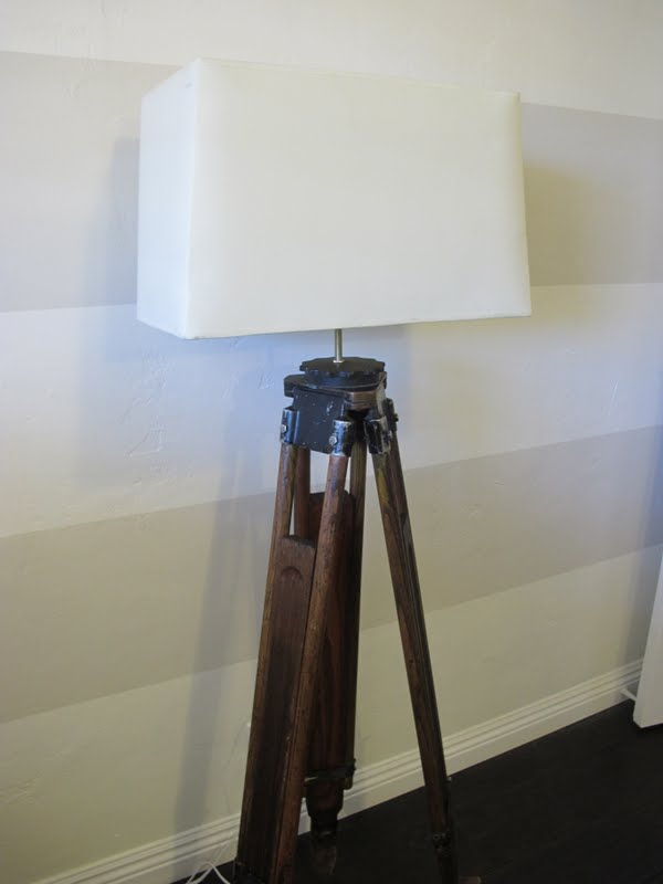 How To Make A Diy Tripod Lamp Dream Book Design