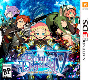 Etrian Odyssey V Beyond The Myth 3DS