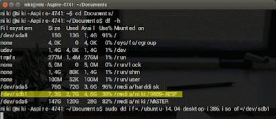 cara bootable linux mudah
