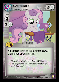 My Little Pony Sweetie Belle, Stitch by Stitch Equestrian Odysseys CCG Card