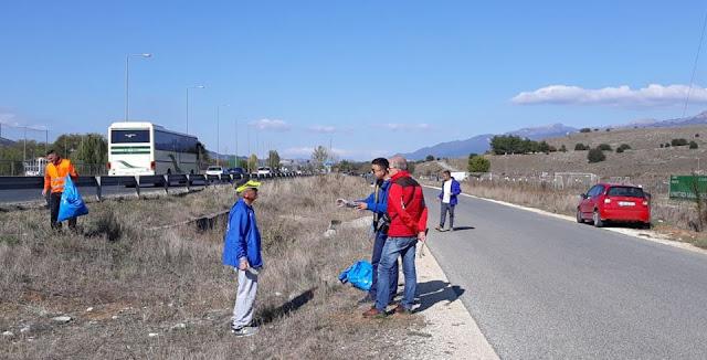 Γιάννενα: Μια Ξεχωριστή Δράση Είχαν Το Πρωί Του Σαββάτου Μέλη Του Συλλόγου Δρομέων Ιωαννίνων.