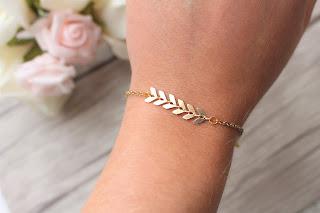 "bracelet ""épi d'or"""