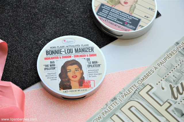 TheBalm Bonnie lou manizer highlighter review