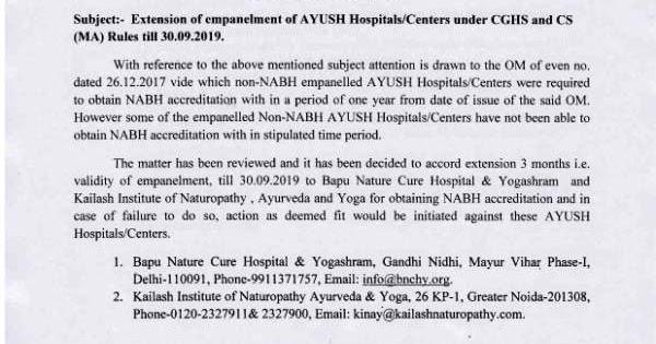 Bapu Nature Cure, Delhi and Kailash Institute of Naturopathy