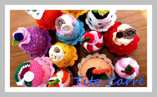 Cupcakes da Tita Carré