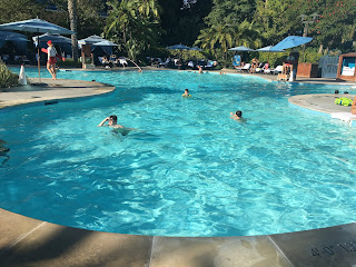 Disneyland Hotel E Ticket Pool Complex