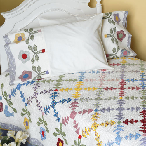 Pineapple Patch Pillowcases - Free Pattern