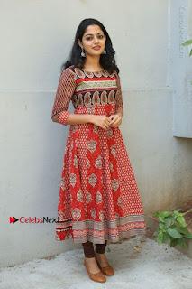 Telugu Actress Nikhila Vimal Latest Stills in Anarkali Dress  0203.JPG