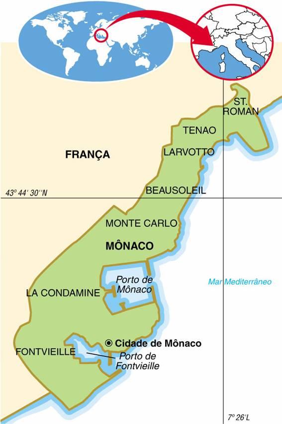MÔNACO, ASPECTOS GEOGRÁFICOS E SOCIOECONÔMICOS DO PRINCIPADO DE MÔNACO