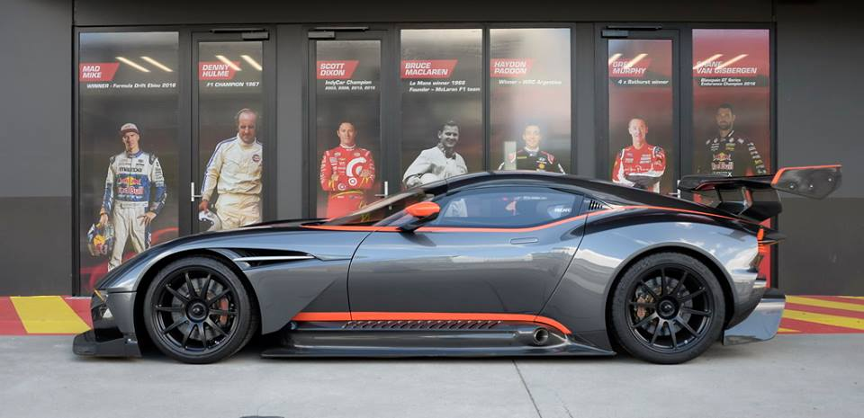The Advantage Craig Lowndes In Aston Martin Vulcan They Must Be Crazy