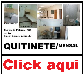 Quitinete mobiliada em Palmas