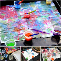 Watercolour Painting Activities for Preschool
