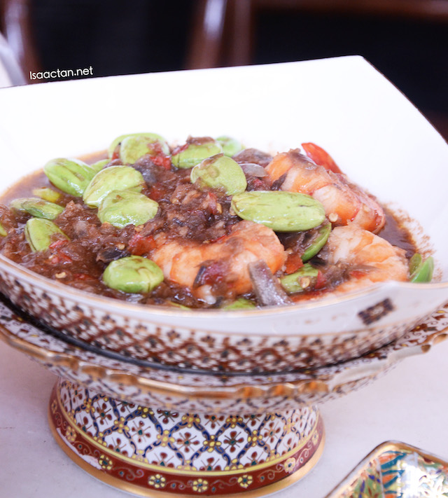 Spicy Prawns with Petai