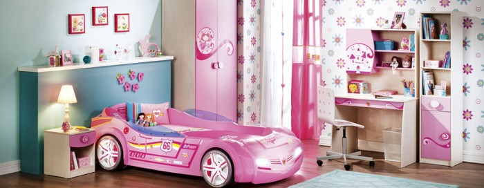 Hogares frescos 100 dise os de habitaciones para ni as for 7 year girl bedroom ideas