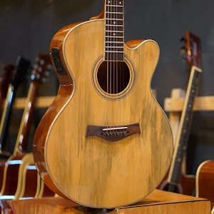 Gitar Akustik elektrik full solid