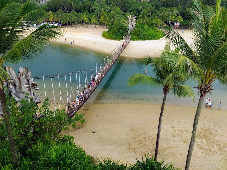 亞洲最南端的吊橋
