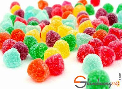 Kẹo dẻo là loại kẹo dễ gây sâu răng nhất