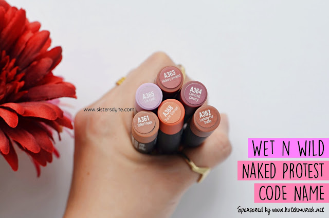 Wet n Wild Naked Protest Code Name