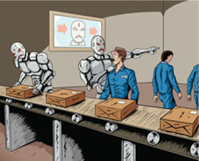 Robots take over in charge control