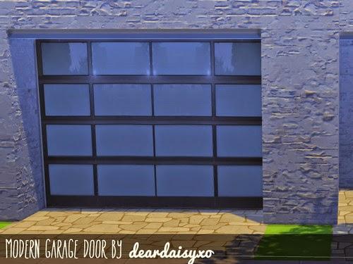 My sims 4 blog garage door wallpaper by deardaisysims for Sims 4 garage