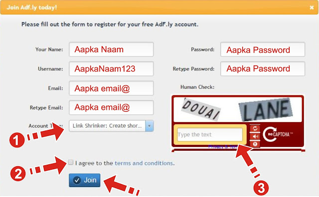 How to make account on AdFly