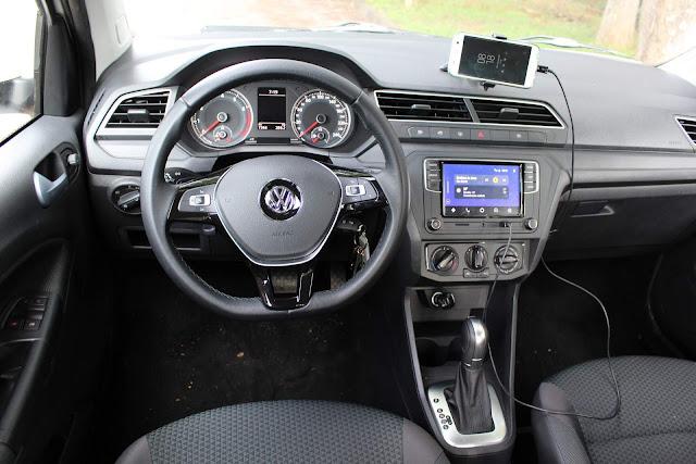 VW Voyage 2019 1.6 Automático - painel