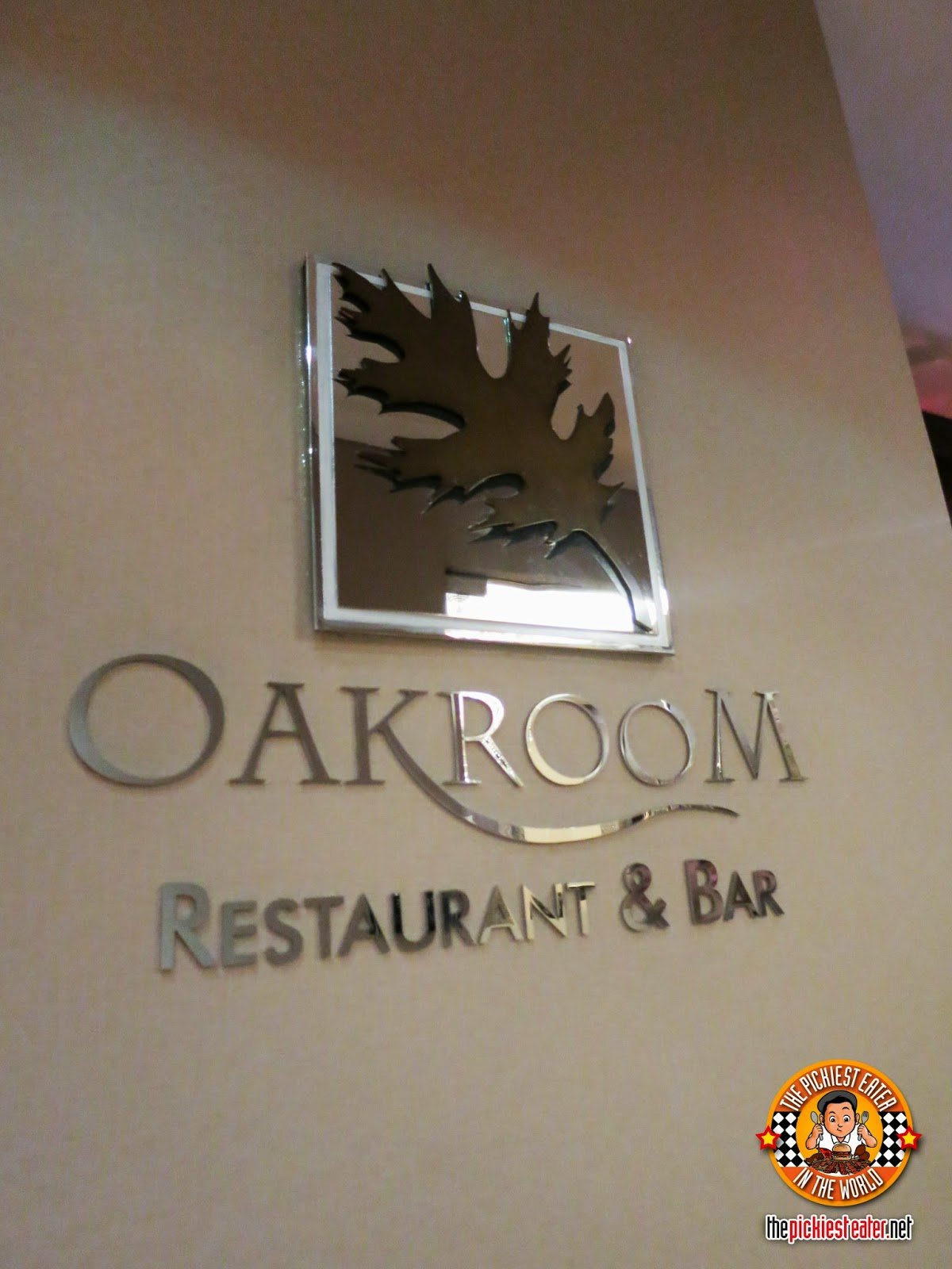 oakroom restaurant and bar logo